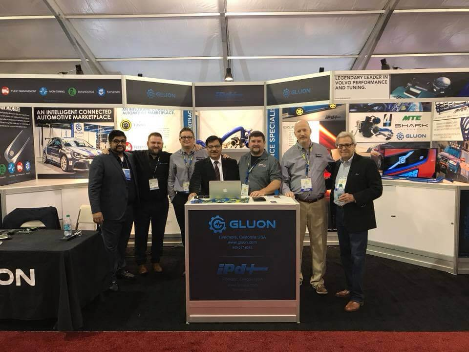 Gluon exhibiting at SEMA show in Las Vegas – one of the largest automotive shows in the world