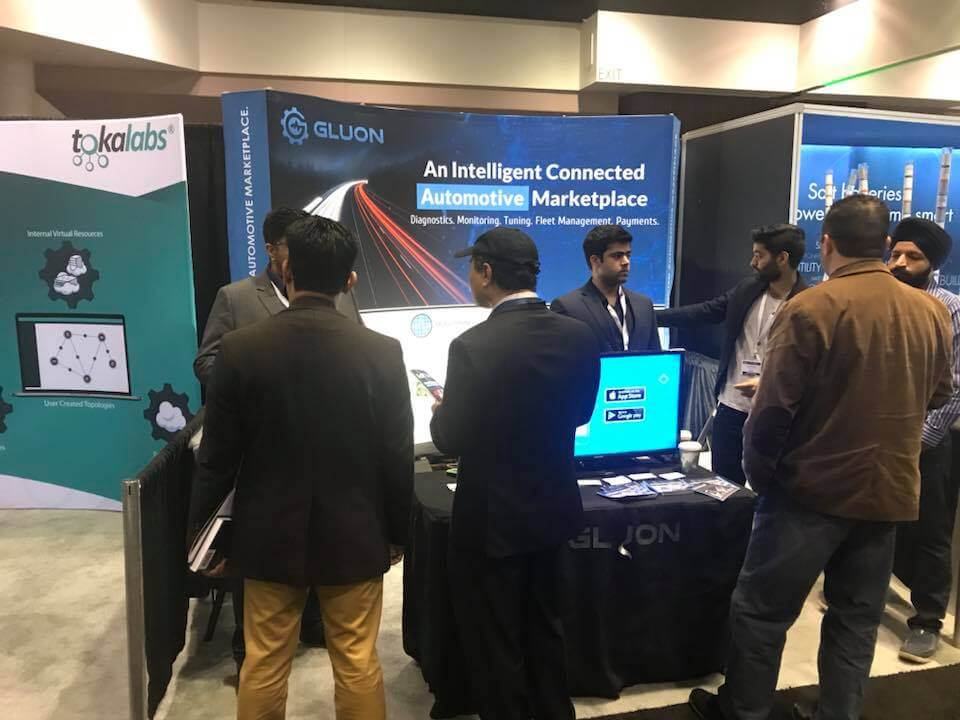 Gluon exhibiting in IoT Tech and Blockchain Expo